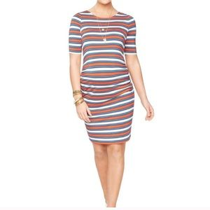Rachel Zoe Pea in the Pod Res Striped Dress M